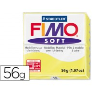 Pasta staedtler fimo soft 56 gr color amarillo limon
