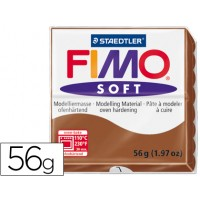 Pasta staedtler fimo soft 56 gr color caramelo