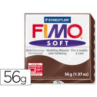 Pasta staedtler fimo soft 56 gr color chocolate