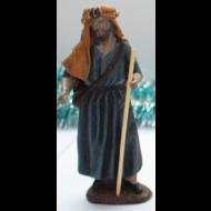 Pastor con bastón 15 cm