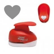 Perforadora goma eva modelo corazón 1,60 cm