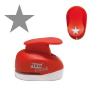 Perforadora goma eva modelo estrella 1,60 cm