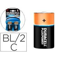 Pila duracell alcalina ultra power c blister de 2 unidades