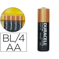 PILAS BLISTER 4 DURACELL SIMPLY ALCALINAS AA