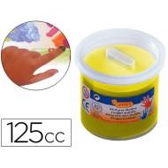 Pintura a dedos jovi 125 cc -amarillo