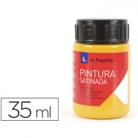 Pintura latex la pajarita amarillo medio 35 ml.