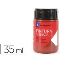 Pintura latex la pajarita oxido rojo 35 ml.