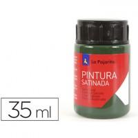 Pintura latex la pajarita verde pino 35 ml.