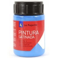 Pintura latex la pajarita cyan 35 ml.