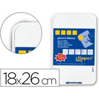 Pizarra blanca clipper pequeña18x26 cm -con rotulador