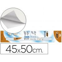 Pizarra blanca velleda rollo de 45x50 cm + rotulador