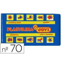 Plastilina jovi 70 azul oscuro -unidad tamaño pequeño