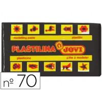 Plastilina jovi 70 negro -unidad -tamaño pequeño