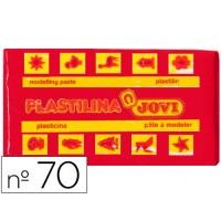 Plastilina jovi 70 rojo -unidad -tamaño pequeño
