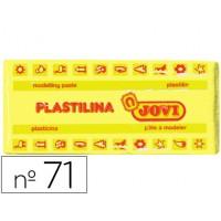 Plastilina jovi 71 amarillo claro -unidad -tamaño mediano