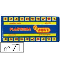 Plastilina jovi 71 azul oscuro -unidad -tamaño mediano