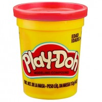Play Doh bote Rojo