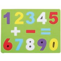 Puzzle goma eva Números y Signos