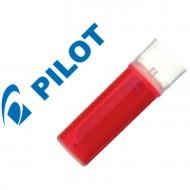 Recambio rotulador pilot vboard master tinta liquida rojo.