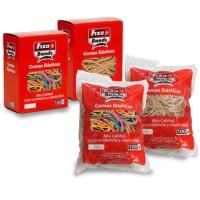 Gomas elásticas bolsa 1000g 1,5mm x 4cm Fixobands