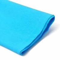Rollo papel crespón 0,5x2,5 metros Azul Cielo