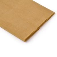 Rollo papel crespón 0,5x2,5 metros Marron