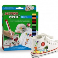 Rotulador para tela Alpino 10 colores crea