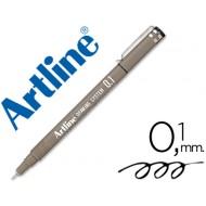 Rotulador artline calibrado micrometrico negro ek-231 0.1 mm -resistente al agua