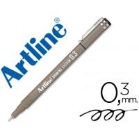 Rotulador artline calibrado micrometrico negro ek-233 0.3 mm -resistente al agua