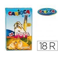 Rotulador carioca joy caja de 18 colores