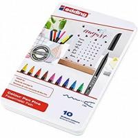 Rotulador edding punta fibra 1200 caja de 10 rotuladores punta redonda 0.5 mm