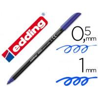 Rotulador edding punta fibra 1200 azul n.3 -punta redonda 0.5 mm
