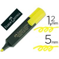 Rotulador Faber-Castell fluorescente amarillo