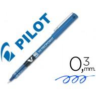 Rotulador pilot punta aguja v-5 azul 0.5 mm