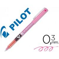 Rotulador pilot punta aguja v-5 rosa 0.5 mm