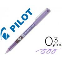 Rotulador pilot punta aguja v-5 violeta 0.5 mm