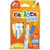 Rotulador Carioca Baby 6 colores 2+