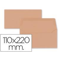 Sobre liderpapel americano naranja 110x220 mm 80 gr pack 9 unidades
