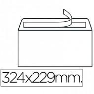 Sobre blanco 229x324 caja de 250 unidades especial matriculas