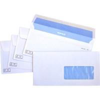 Sobre blanco 110x220 caja de 500 unidades ventana izquierda