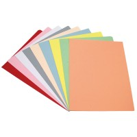 Subcarpeta folio 180 gr pack 10 unidades colores surtidos