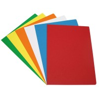 Subcarpeta folio 180 gr pack 10 unidades color amarillo vivo