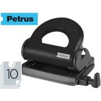 Taladrador petrus 80 color -negro -capacidad 10 hojas