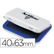 Tampon artline nº 00 azul -40x63 mm