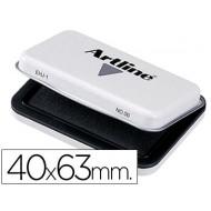Tampon artline nº 00 negro -40x63 mm