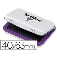 Tampon artline nº 00 violeta -40x63 mm