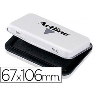 Tampon artline nº 1 negro -67x106 mm
