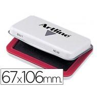 Tampon artline nº 1 rojo -67x106 mm