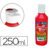 Tempera liquida jovi escolar 250 ml bermellon.
