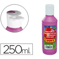 Tempera liquida jovi escolar 250 ml magenta.